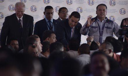 Alcalde: ministro coordinó apoyo para el presidente