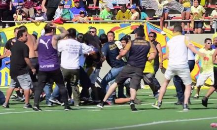 MP: el árbitro de una riña en la cancha de fútbol