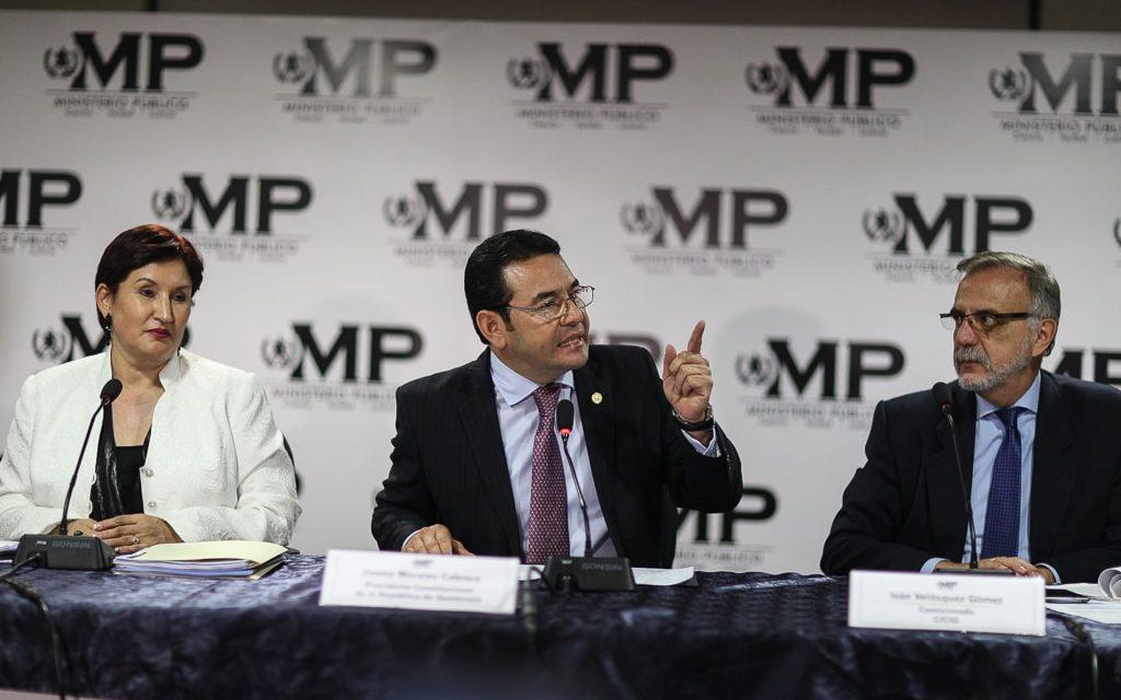 "Tarde o temprano Jimmy Morales tendrá que enfrentar la justicia<span class=""wtr-time-wrap after-title"">Lectura de <span class=""wtr-time-number"">4</span> min.</span>"
