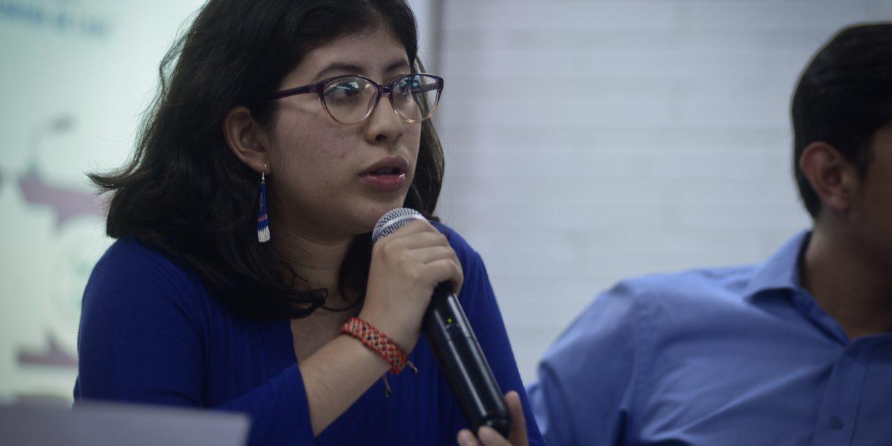 "Lenina: la mujer que desafía mafias en la USAC<span class=""wtr-time-wrap after-title"">Lectura de <span class=""wtr-time-number"">3</span> min.</span>"