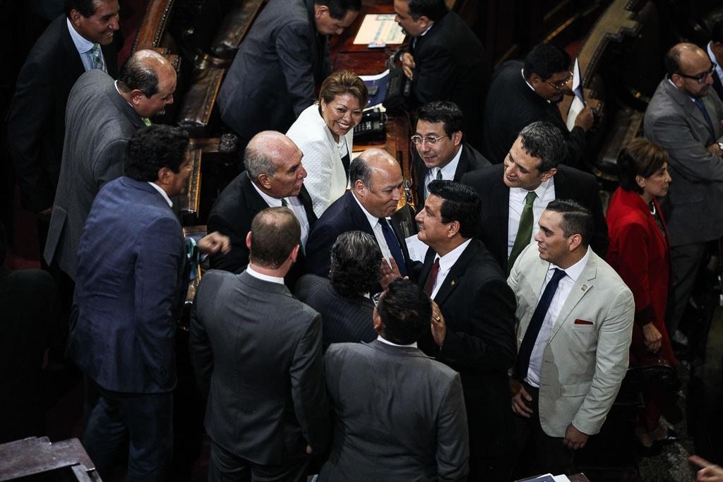 ¿Qué diputados apoyan a Jimmy Morales? las fuerzas se alinean