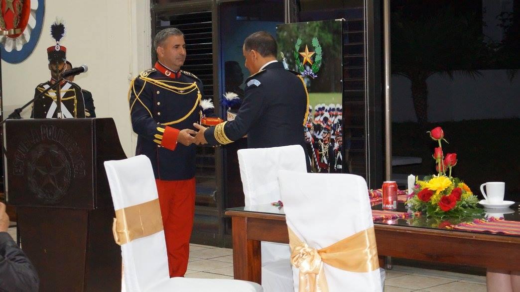 El General Erick Melgar Padilla: se fue de descanso y se hizo humo