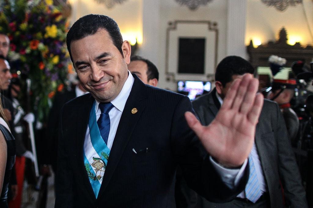 Jimmy Morales: un presidente de pantalla