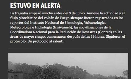 #VolcánDeFuego: El Rodeo nunca estuvo en alerta