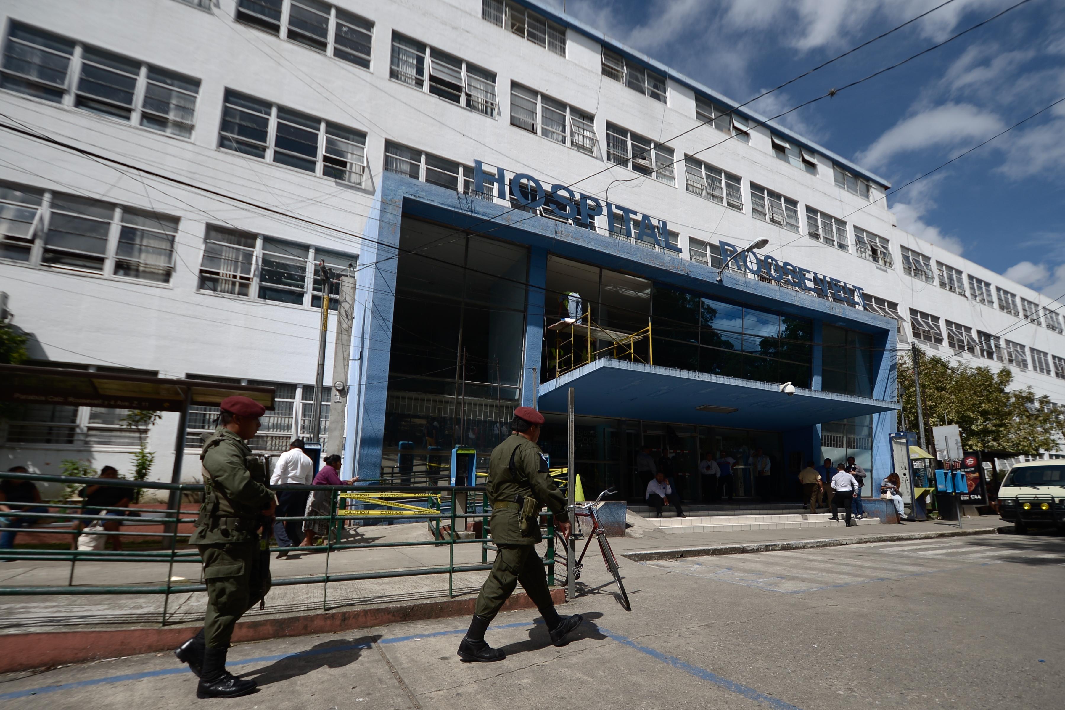 Hospitales: jeringas, bisturíes y pistolas