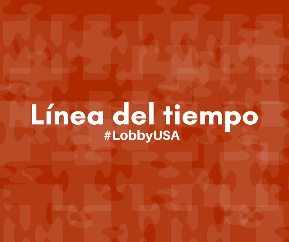 #LobbyUSA:  Del contrato 1 (Mérida) al contrato 2 (diputados)