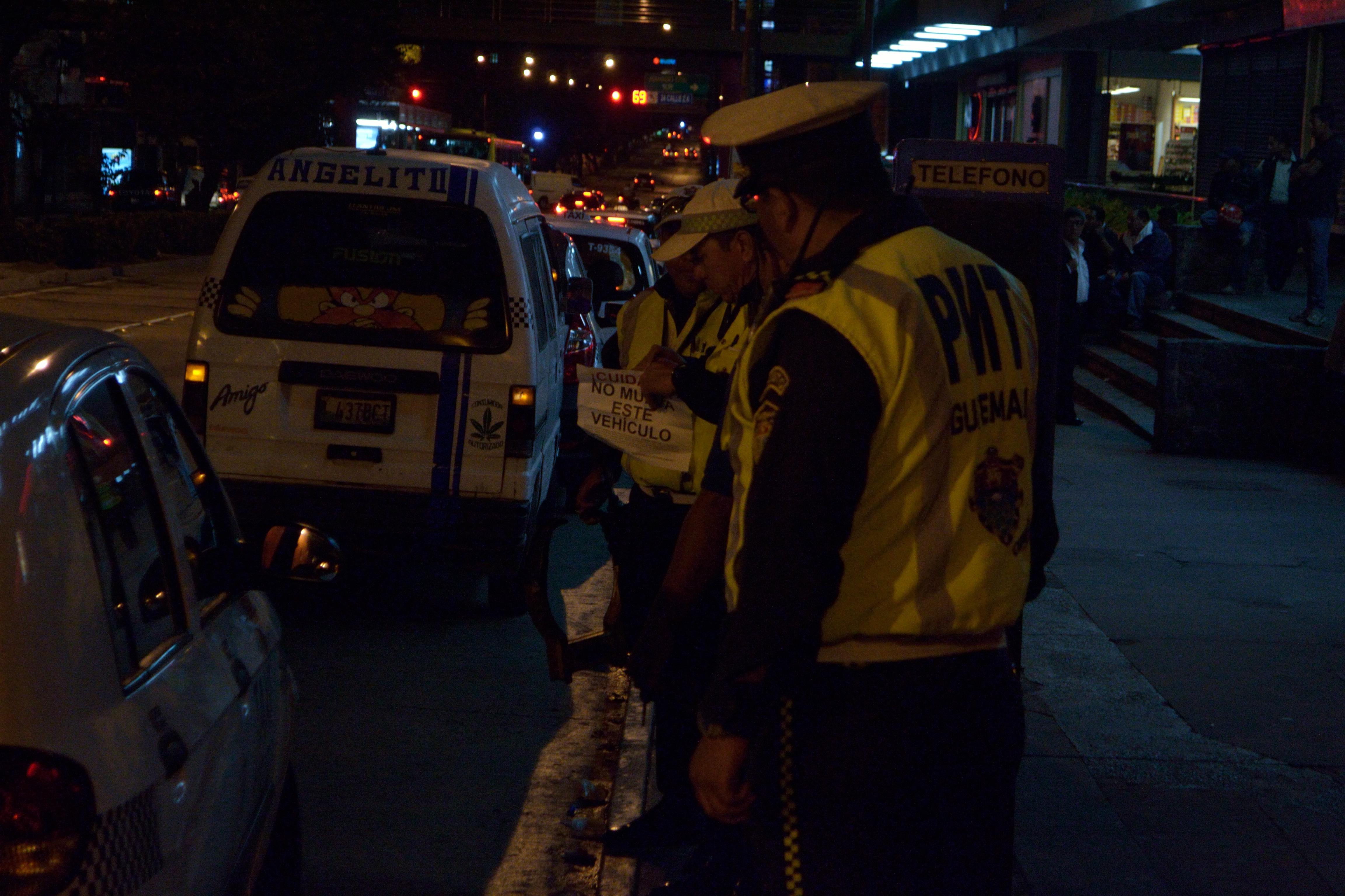 Policías de tránsito multarán por fallas de SAT