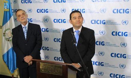 Gobierno incumple acuerdo y pone en riesgo a CICIG