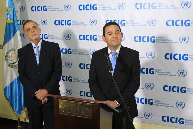 "Gobierno incumple acuerdo y pone en riesgo a CICIG<span class=""wtr-time-wrap after-title"">Lectura de <span class=""wtr-time-number"">3</span> min.</span>"