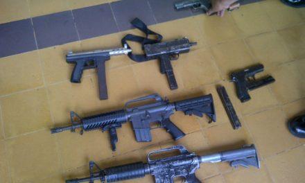 18 armas de la PNC, cambiaron de dueños y no se sabe dónde están