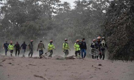 Presupuesto 2019 incluye partida para buscar a víctimas del Volcán de Fuego.
