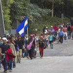 Crisis humanitaria en Honduras se convierte en un desafío para Guatemala.