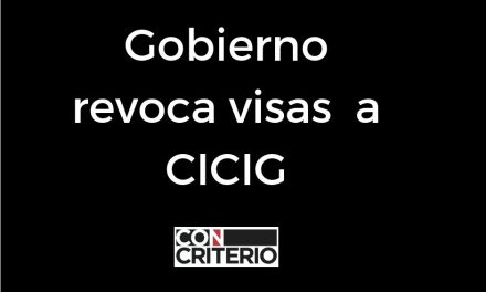 Gobierno de Jimmy Morales revoca visas a CICIG