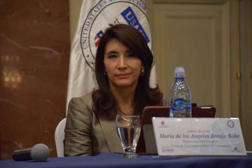 María de los Ángeles Araujo, Magistrada suplente de la CC
