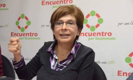 Encuentro por Guatemala declina con Thelma Aldana y opta  en promover a alguien de casa: será Nineth Montengro