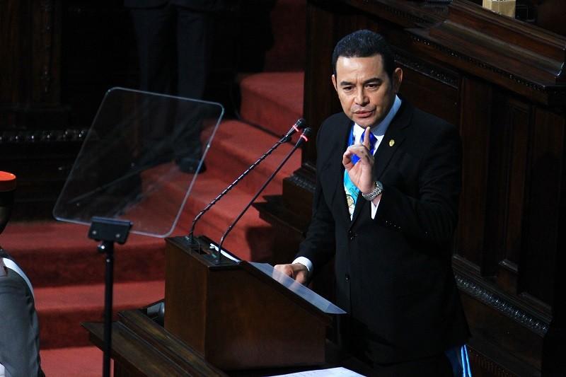 "Excancilleres: Jimmy Morales está a punto de hipotecar al país con EE.UU<span class=""wtr-time-wrap after-title"">Lectura de <span class=""wtr-time-number"">4</span> min.</span>"