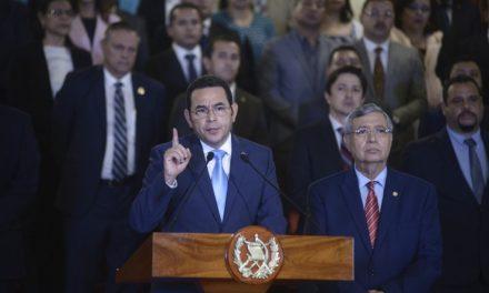 Malestar y aplausos:  Jimmy Morales emplaza a ONU para expulsar a CICIG