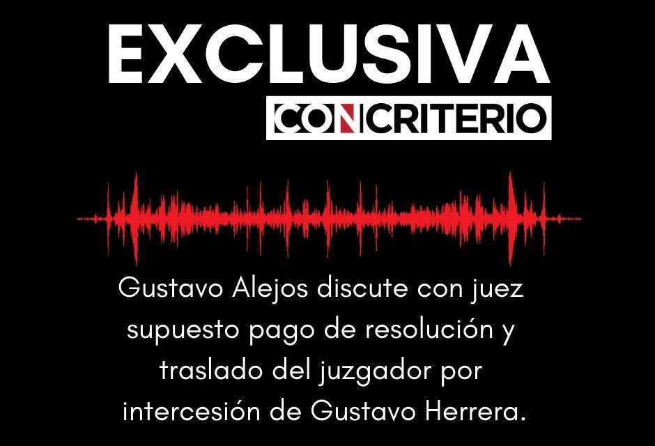 """Transcripción:   Conversación entre Gustavo Alejos y el magistrado Edgar López Espaillat<span class=""""wtr-time-wrap after-title"""">Lectura de <span class=""""wtr-time-number"""">5</span> min.</span>"""