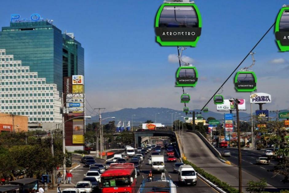 Transportase en el aire: la apuesta de Mixco y MuniGuate