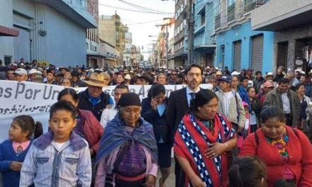 Vicenta Jerónimo provoca cambio de estrategia en algunas bancadas del Congreso