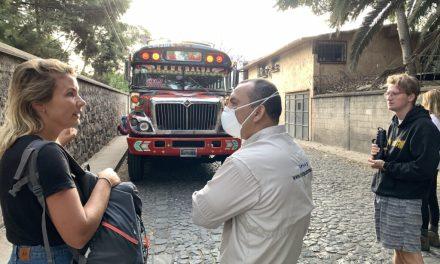El INGUAT evacúa turistas hacia sus países