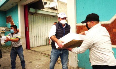 """Roberto Arzú: """"si no fuera político no criticarían por ayudar"""""""