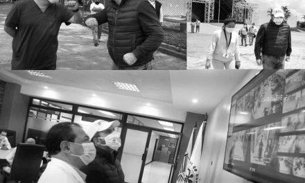 Roberto Arzú, sin permiso de Salud, visita hospitales como un funcionario