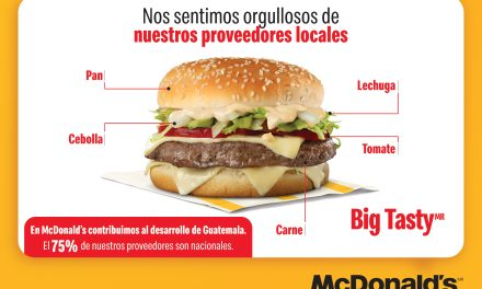 El 75% de los proveedores de McDonald's son guatemaltecos