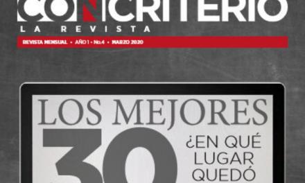 Con Criterio, La Revista Marzo 2020