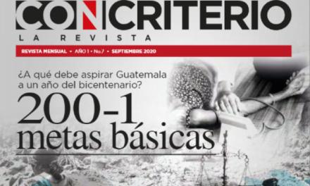 Con Criterio La Revista, septiembre 2020