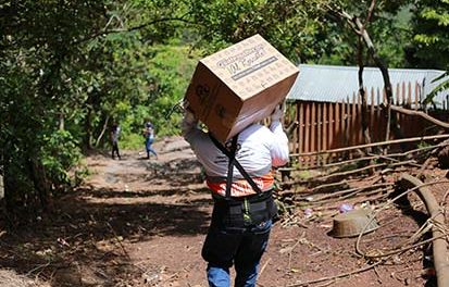 """Guillermo Castillo Villacorta: """"Cervecería Centro Americana entregará los primeros kits de alimentos a damnificados por el Fenómeno Tropical ETA"""""""