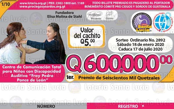"Lotería Santa Lucia tiene nuevos sorteos ordinarios millonarios<span class=""wtr-time-wrap after-title"">Lectura de <span class=""wtr-time-number"">1</span> min.</span>"