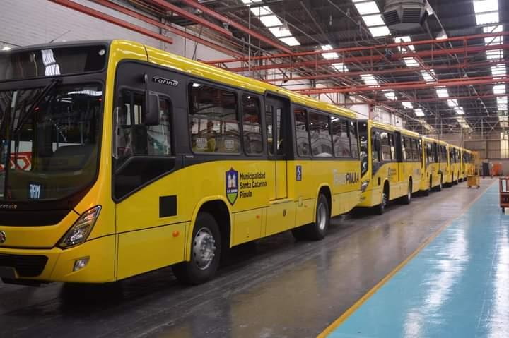 "Transpinula: los nuevos buses municipales de Santa Catarina<span class=""wtr-time-wrap after-title"">Lectura de <span class=""wtr-time-number"">3</span> min.</span>"