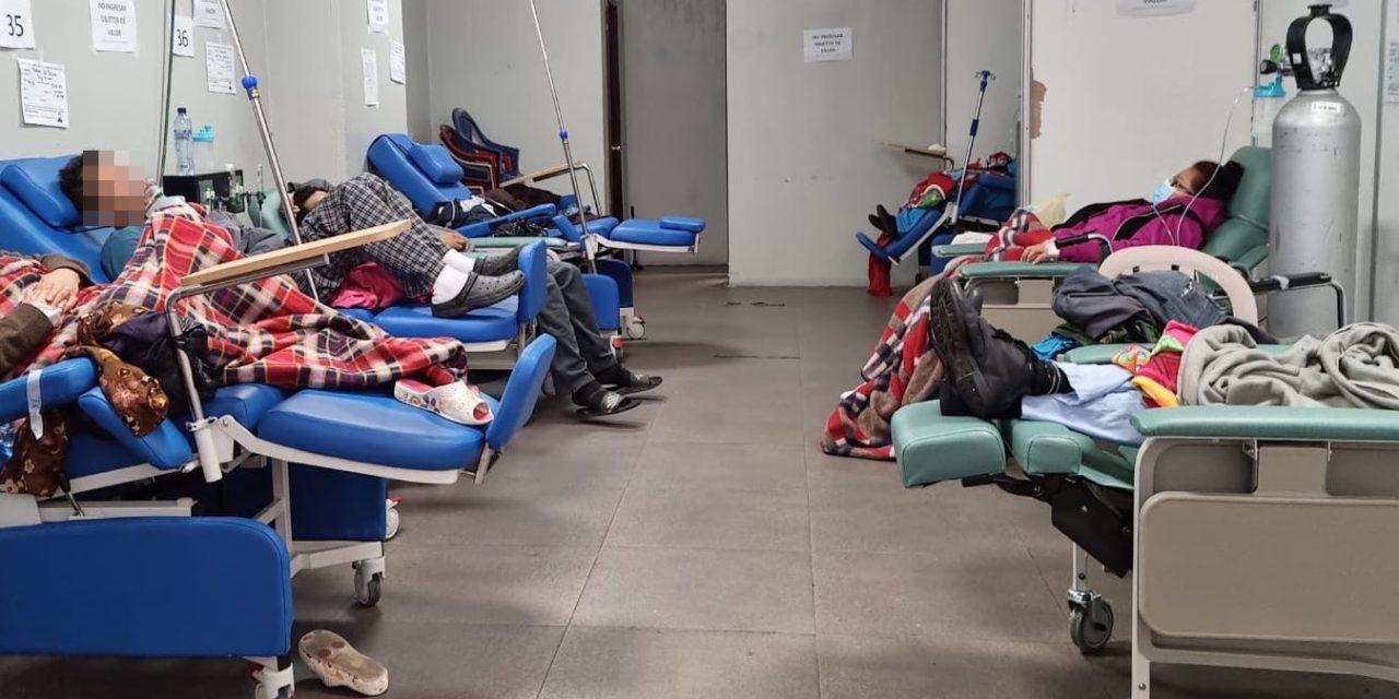 "Covid 19: El cierre del Parque de la Industria es el primer dominó que cae en una fila de hospitales<span class=""wtr-time-wrap after-title"">Lectura de <span class=""wtr-time-number"">3</span> min.</span>"